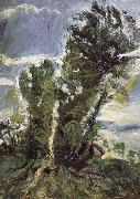 Chaim Soutine Lager poplars in civry oil painting reproduction