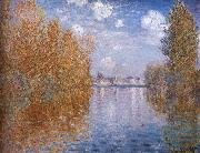 Claude Monet Spring oil painting reproduction