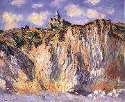 Claude Monet The Church at Varengeville,Morning Effect oil painting reproduction