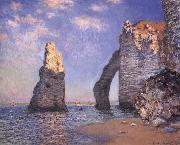 Claude Monet The Needle Rock and the Porte d-Aval,Etretat oil painting reproduction