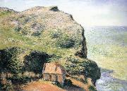 Claude Monet Customhouse,Varengeville oil painting reproduction
