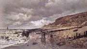 Claude Monet The Pointe de la Heve at Low Tide oil painting reproduction