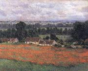 Field of Poppies,Giverny