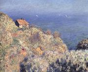 Claude Monet The Fisherman-s Hut at Varengeville oil painting reproduction