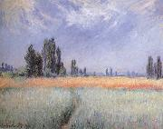 Claude Monet Wheat Field oil painting reproduction