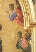 Detail of The Virgin Mary and angel predictor,Saint