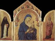 Duccio Virgin and Child oil painting reproduction