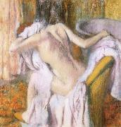 Edgar Degas Female nude oil painting reproduction