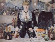 Edouard Manet A bar at the folies-bergere oil painting reproduction