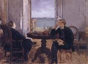 Manet-s Family at home in Arachon