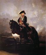 Carlos IV on Horseback