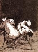 Francisco Goya Que se la llevaron oil painting reproduction
