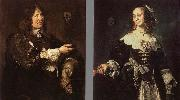 Frans Hals Stephanus Geraerdts and Isabella Coymans oil painting reproduction
