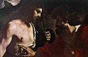 GUERCINO Doubting Thomas oil painting reproduction