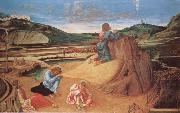 Gentile Bellini The Agony in the Garden oil painting reproduction