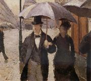 Detail of Rainy day in Paris