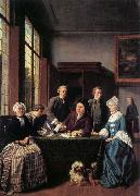 HOREMANS, Jan Jozef II The Marriage Contract oil painting