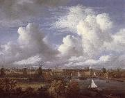 Panoramic View of the Amstel Looking towards Amsterdam