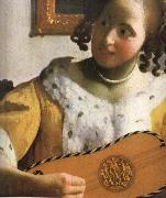 Detail of  Woman is playing Guitar