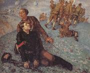 Kuzma Petrov-Vodkin Death of the Commissar oil painting