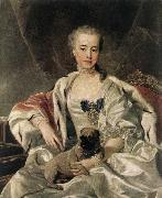 ) Portrait of Catherina Golitsyna