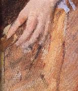 Detail of  The woman in Black