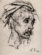 Head portrait of old man
