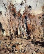 Nikolay Fechin Landscape of New Mexico oil painting on canvas