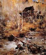Nikolay Fechin Landscape oil painting reproduction