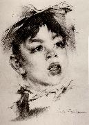 Head portrait of boy
