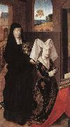 Petrus Christus Isabel of Portugal with St Elizabeth oil painting reproduction