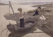 Pierre Puvis de Chavannes Poor fisherman oil painting artist