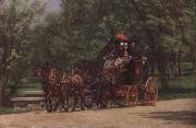 Thomas Eakins Wagon oil painting reproduction