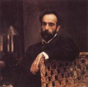 Portrait of the Artist Isaac Levitan