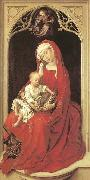 WEYDEN, Rogier van der Virgin and Child oil painting reproduction