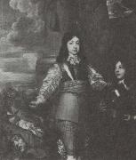 Charles II as a boy commander