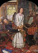 William Holman Hunt Unknown work oil painting reproduction