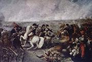 Napoleon in battle wide Wagram