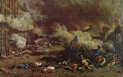 Da the avslojades ,att king had consort with France enemies charge a rebellion crowd the 10 august Tuilerierna