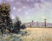 Alfred Sisley Sahurs Meadows in the Morning Sun