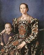 Eleonora of Toledo with her son Giovanni de- Medici