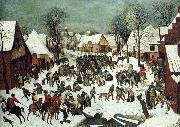 BRUEGEL, Pieter the Elder The Slaughter of the Innocents