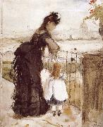 Berthe Morisot Balcony oil painting reproduction