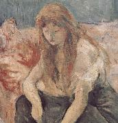 Detail of two girls