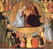 Bicci, Neri di The Coronation of virgin oil painting