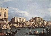 Canaletto The Molo and the Riva degli Schiavoni from the Bacino di San Marco