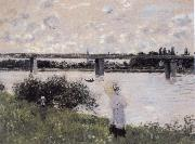 By the Bridge at Argenteuil