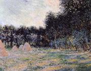 Field with Haystacks at Giverny