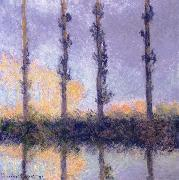 Claude Monet Four Trees oil painting reproduction