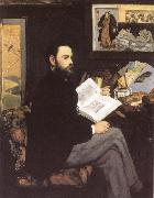 Portrait of Emile Zola